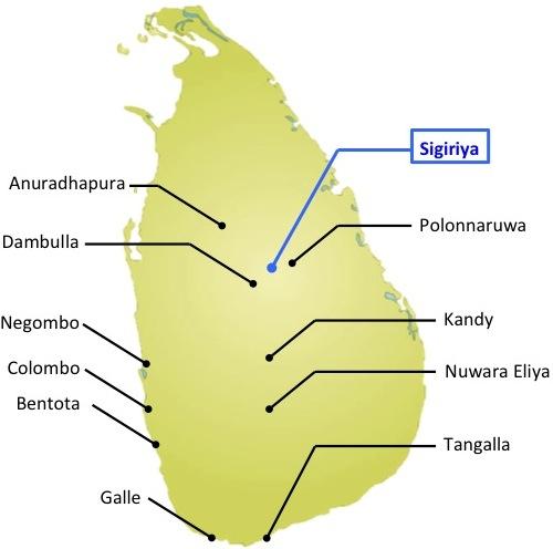 Sigiriya-map