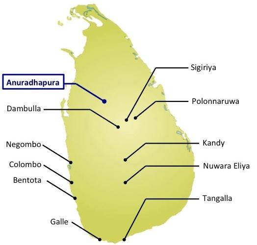 map-Anuradhapura