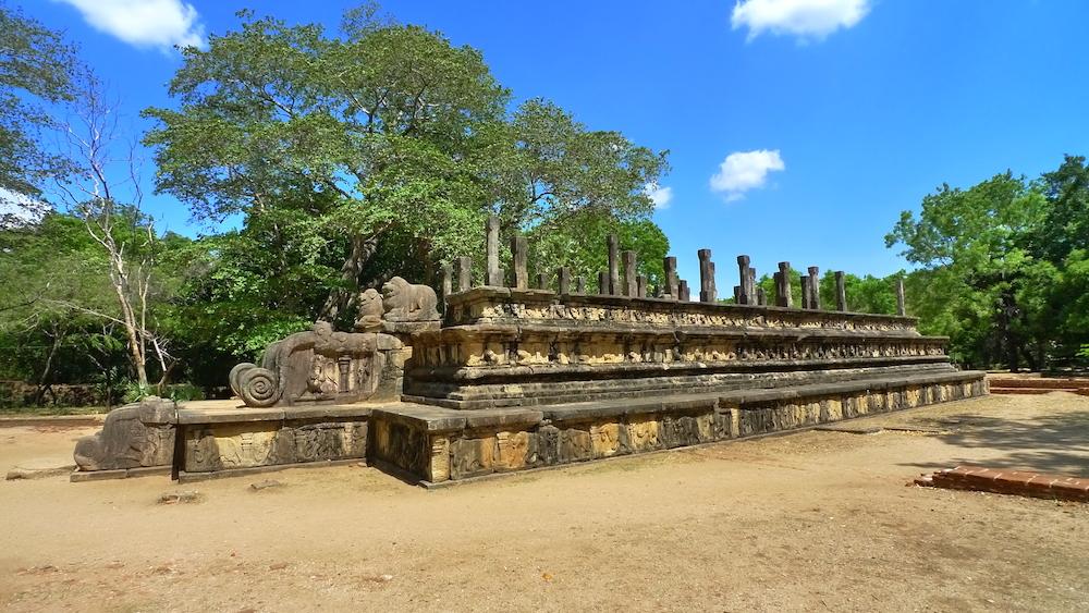 04 - Rajasabha Mandapaya of the Parakramabahu